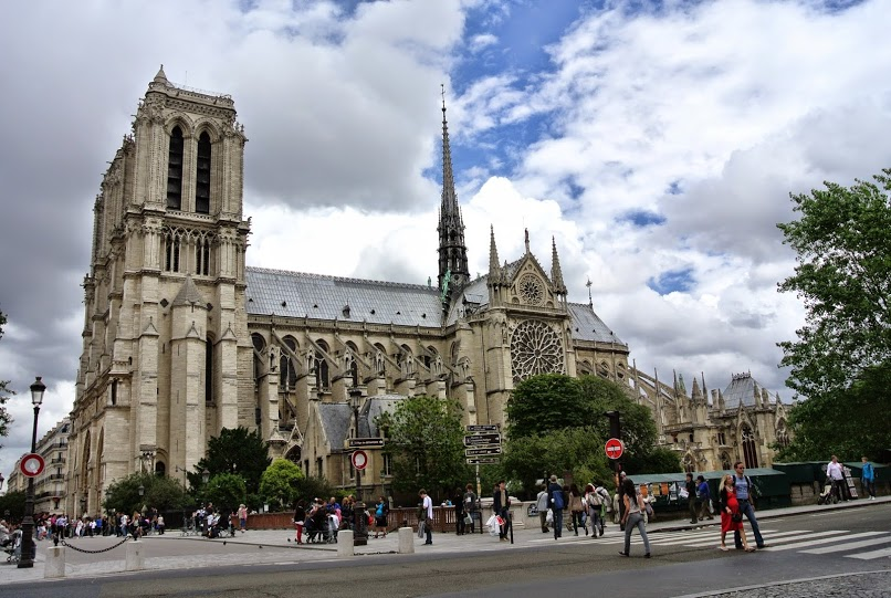 For one of the best photo ops in Paris, climb to the top of Notre Dame