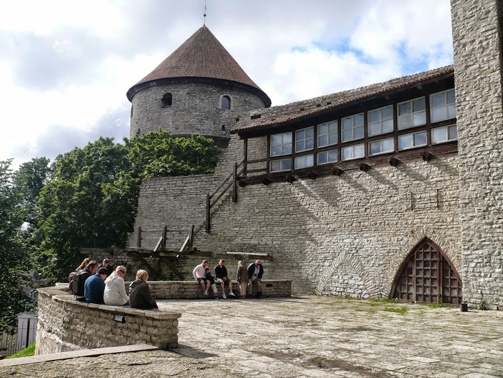 One of Tallinn's medieval towers