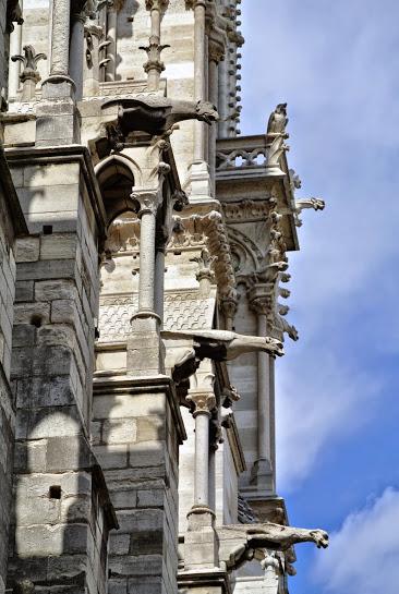 The real working stiffs of Notre Dame - the gargoyles